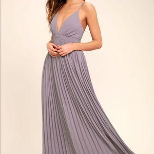 Lulus Light Purple Maxi Dress